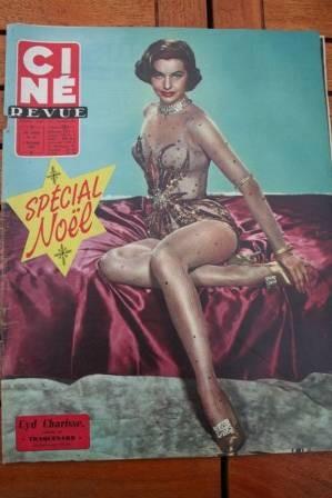 1958 Cyd Charisse Gina Lollobrigida Brigitte Bardot