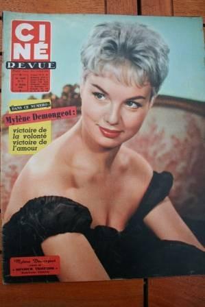 Mylene Demongeot Jean Seberg Sophia Loren Anna Magnani
