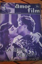 1953 Magazine Gino Cervi Leonora Ruffo Queen Of Saba