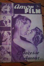 1953 Magazine Ray Milland Joan Fontaine Teresa Wright