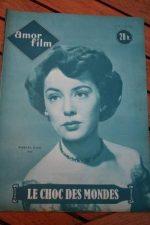 1953 Magazine When Worlds Collide Barbara Rush Sci-Fi