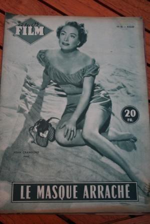 1954 Magazine Joan Crawford Jack Palance Sudden Fear