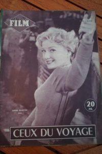 1954 Magazine Anne Baxter Steve Cochran Mitzi Gaynor