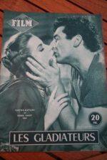 1954 Magazine Debra Paget Susan Hayward Victor Mature