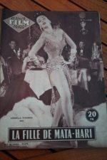 1955 Vintage Magazine Ludmilla Tcherina Mata Hari
