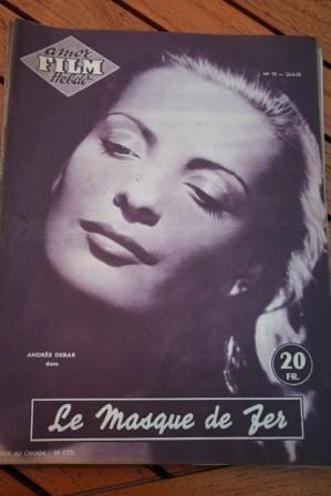 55 Magazine Pierre Cressoy Andree Debar Jayne Mansfield