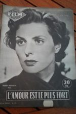 1955 Magazine Ingrid Bergman George Sanders