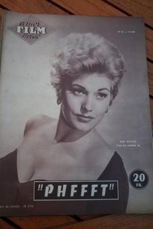 1955 Magazine Kim Novak Judy Holliday Jack Lemmon