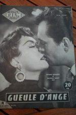 55 Magazine Maurice Ronet Viviane Romance Gueule d'Ange