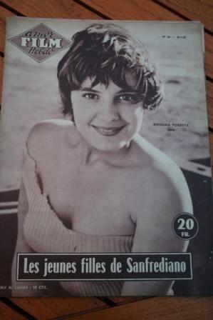 1955 Magazine Rossana Podesta Antonio Cifariello