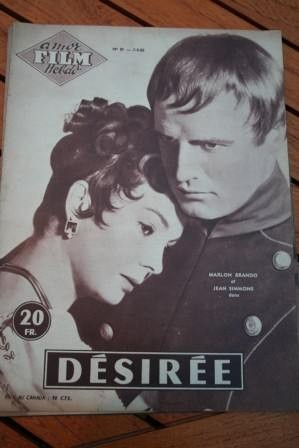 1955 Magazine Marlon Brando Jean Simmons Grace Kelly