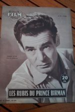 1955 Mag Robert Ryan Barbara Stanwyck Escape To Burma