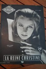 Magazine Greta Garbo John Gilbert Christine Liz Taylor