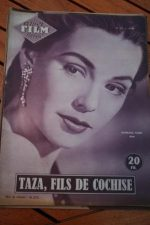 1956 Mag Rock Hudson Barbara Rush Taza Son Of Cochise