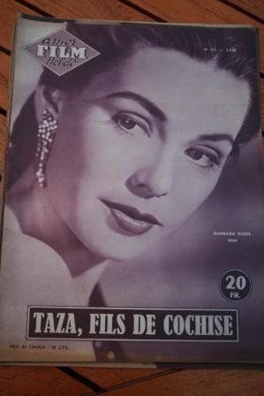 1956 Mag Rock Hudson Barbara Rush Taza Son Of Cochise