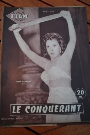 1956 Magazine Susan Hayward John Wayne