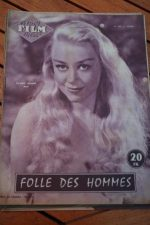 1956 Magazine Glynis Johns Anne Crawford Donald Sinden