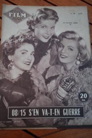 1956 Magazine Gitta Lind Helen Vita Jayne Mansfield