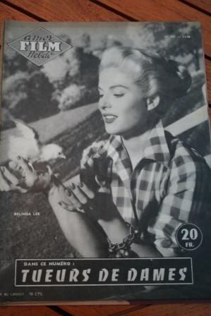 1956 Magazine Belinda Lee Alec Guinness Cecil Parker
