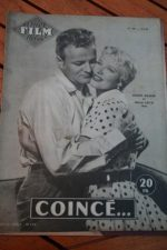 1956 Magazine Ginger Rogers Brian Keith Lucy Marlow