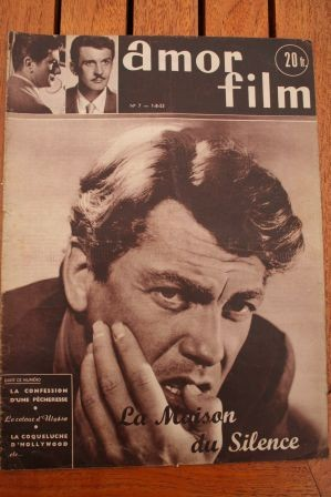 1953 Magazine Jean Marais Silvana Mangano