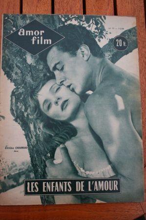 1954 Jacques Sernas Glenn Ford Gloria Grahame Choureau