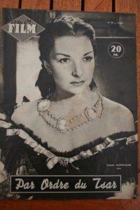 54 Colette Marchand James Stewart Bella Darvi Tcherina