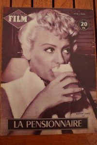 1954 Martine Carol Marilyn Monroe Kathleen Hughes