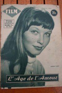 1954 Marina Vlady Sophia Loren Henri Vidal