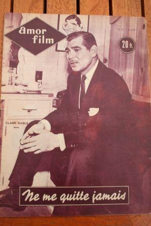 54 Clark Gable Gene Tierney Ble En Herbe Virginia Mayo