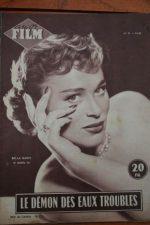 1955 Magazine Richard Widmark Bella Darvi Brigitte Bard