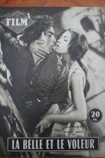 1954 Magazine Machiko Kyo Rentaro Mikuni Rosemary Cloon