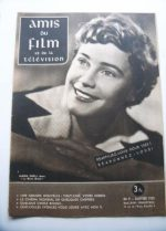 Vintage Magazine 1955 Maria Schell On Cover
