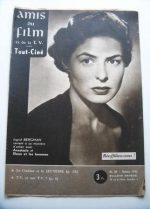 Vintage Magazine 1956 Ingrid Bergman On Cover