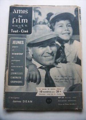 Vintage Magazine 1957 O. W. Fischer On Cover