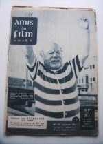 Vintage Magazine 1957 Edmund Gwenn On Cover