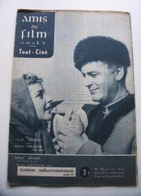 Vintage Magazine 57 Maria Schell Curd Jurgens On Cover