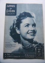 Vintage Magazine 1957 Debbie Reynolds On Cover