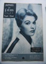 Vintage Magazine 1958 Kim Novak On Cover