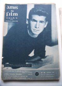 Vintage Magazine 1959 Anthony Perkins On Cover