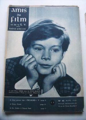 Vintage Magazine 1959 Oliver Grimm On Cover