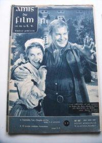 Vintage Magazine 1959 Maria Schell Curd Jurgens Cover