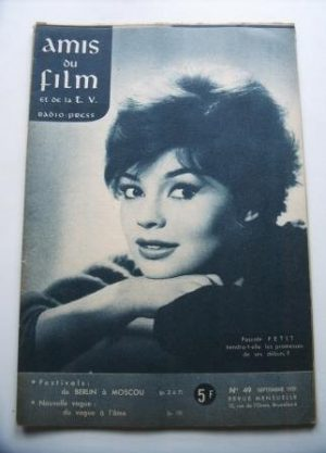 Vintage Magazine 1959 Pascale Petit On Cover