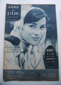Vintage Magazine 1959 Pascale Audret On Cover