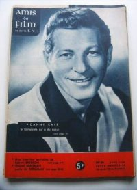 Vintage Magazine 1960 Danny Kaye On Cover