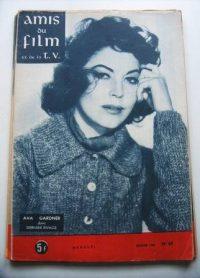 Vintage Magazine 1960 Ava Gardner On Cover