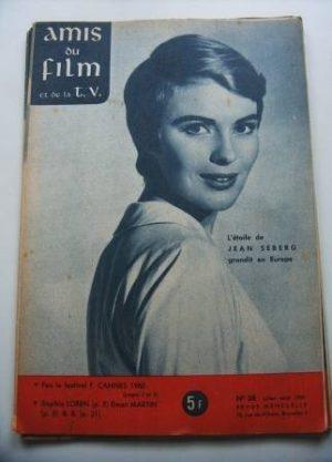 Vintage Magazine 1960 Jean Seberg On Cover