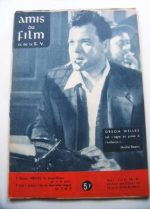 Vintage Magazine 1960 Orson Welles On Cover