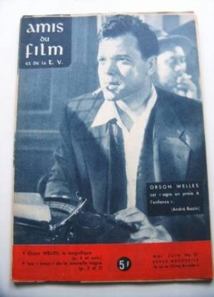 Vintage Magazine 1960 Orson Welles On Cover