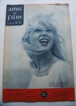 Vintage Magazine 1960 Mylene Demongeot On Cover